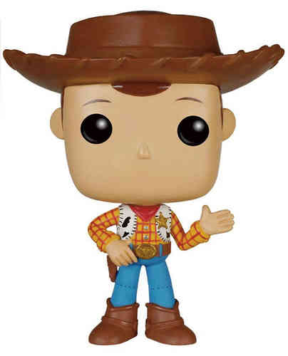 Toy Story POP! Woody 20th 9cm