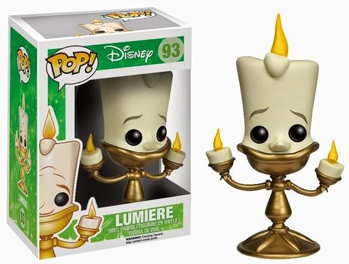 Beauty and the Beast - POP! Lumière 10 cm