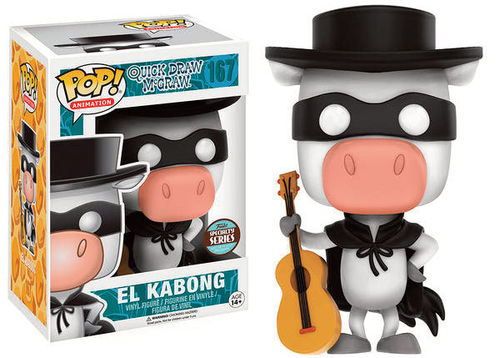 Quick Draw McGraw POP! Speciality Series El Kabong 9 cm