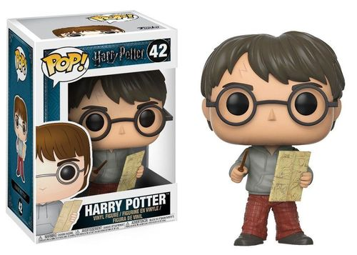 Harry Potter - POP! Harry Potter with Marauders Map 9 cm