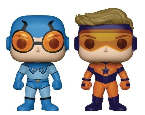 DC Comics POP! - 2-Pack Blue Beetle and Booster Gold 9 cm