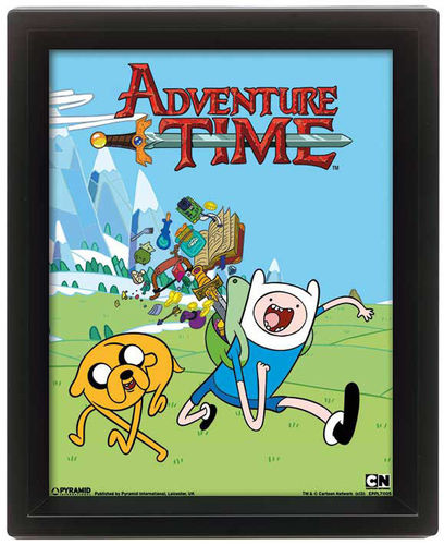 Adventure Time Framed 3D Effect Poster Goodies 26 x 20 cm