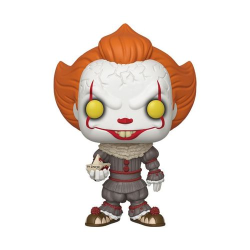 Stephen Kings IT 2 Super Sized POP! Vinyl Figure Pennywise with Boat 25 cm