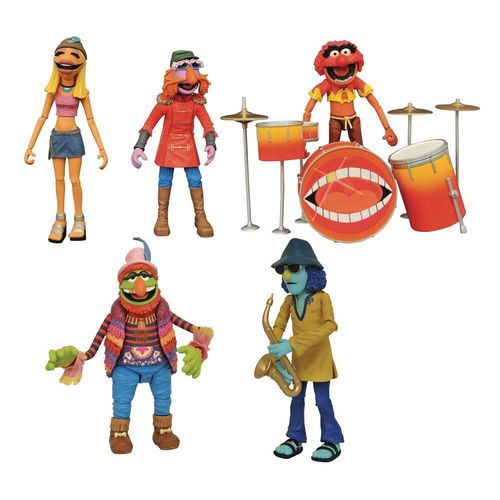 The Muppets Figure Box Set Band Members SDCC 2020 Exclusive