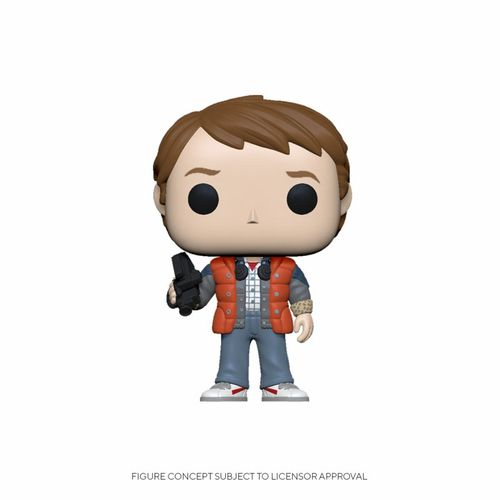 Back to the Future POP! Marty in Puffy Vest 9 cm