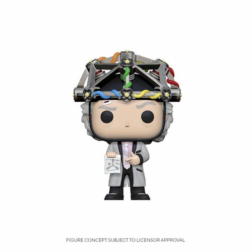 Back to the Future POP! Doc with Helmet 9 cm