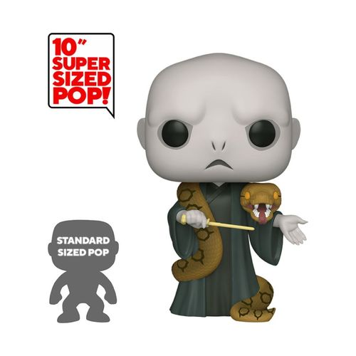 Harry Potter POP! Super Sized Vinyl Lord Voldemort with Nagini 25 cm