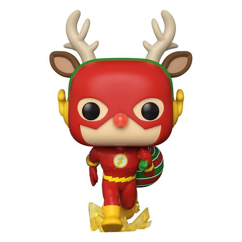 DC Super Heroes POP! Vinyl Figure DC Holidays The Flash Holiday Dash 9 cm