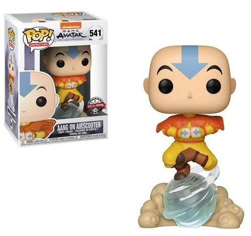 Avatar The Last Airbender POP! Aang on Airscooter 9 cm