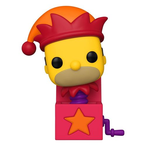 The Simpsons Treehouse of Horror POP! TV Vinyl Figure Jack-in-the-Box Homer 9 cm