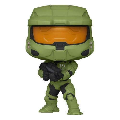 Halo POP! Master Chief with MA40 Assault Rifle 9 cm