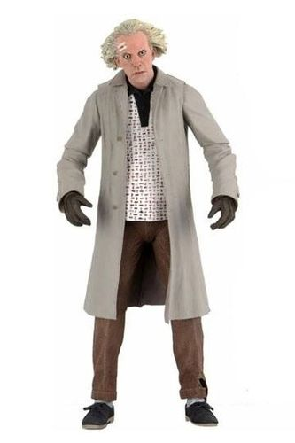 Back to the Future Action Figure Ultimate Doc Brown 18 cm