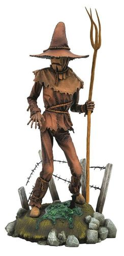 DC Comic Gallery Diorama PVC Statue Scarecrow 25 m